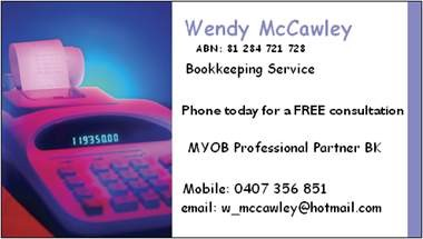 Wendy Mccawley - Melbourne Accountant