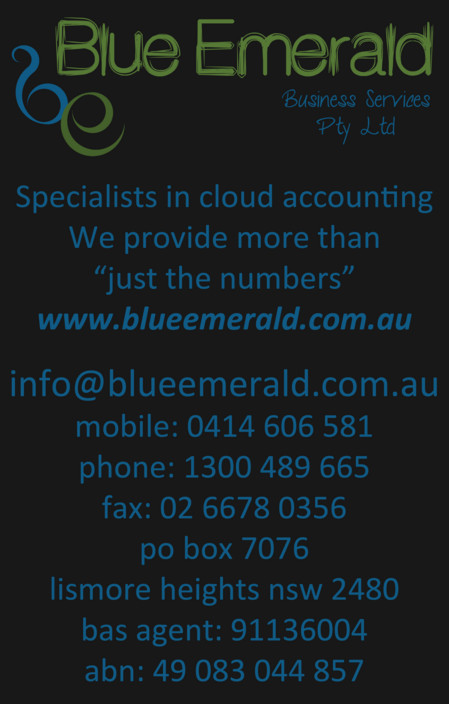 Blue Emerald - Melbourne Accountant
