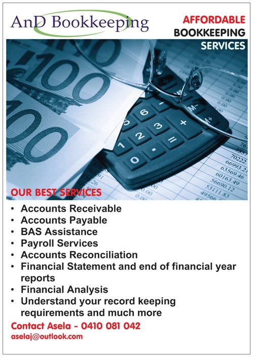 AnD Bookkeeping - Melbourne Accountant