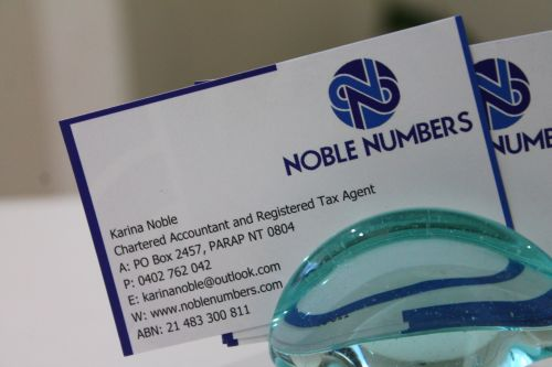 Noble Numbers - Melbourne Accountant
